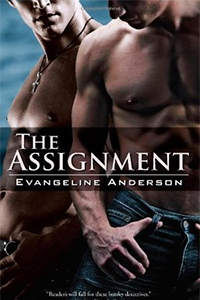 The cover of The Assignment; two shirtless men whose faces are not visible.