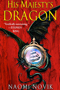 cover of His Majesty's Dragon