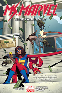 Cover of Ms Marvel Volume 2