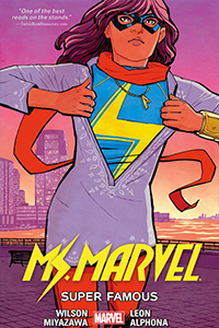 cover for Ms. Marvel, Volume 5: Super Famous