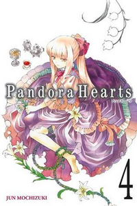 Cover of Pandora Hearts 4