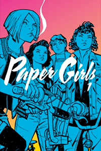 Cover for Paper Girls Volume 1
