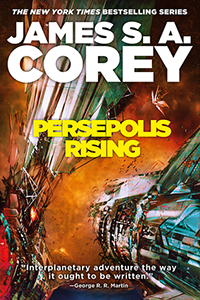 Cover for Persepolis Rising
