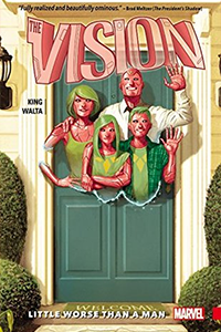 cover for The Vision, Volume 1: Little Worse Than A Man