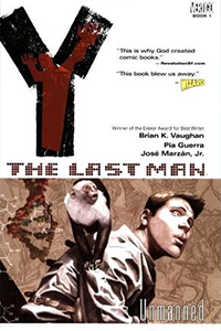 Cover for Y: The Last Man Volume 1: Unmanned