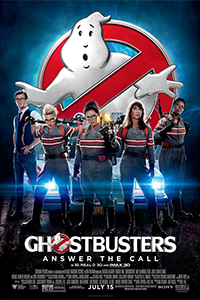 poster for Ghostbusters 2016