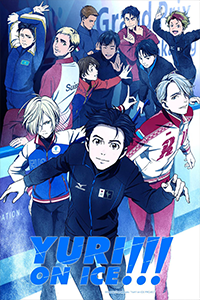 poster for Yuri on Ice