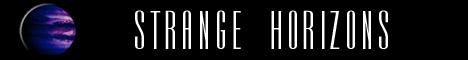 Banner for Strange Horizons online SF Magazine