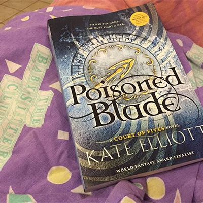 cover for Poisoned Blade by Kate Elliott